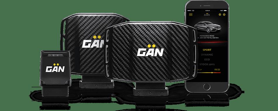 GAN выпускает модули с разными характеристиками, которые подходят к разным авто.
